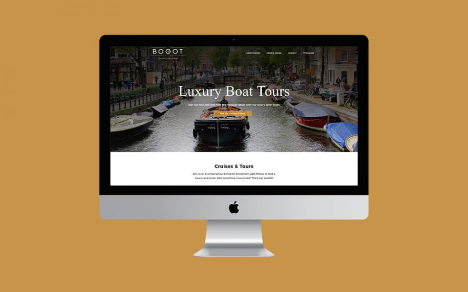 booot wordpress website